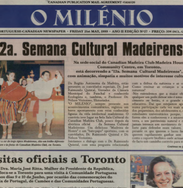 O MILENIO: 1999/05/21 Issue 27