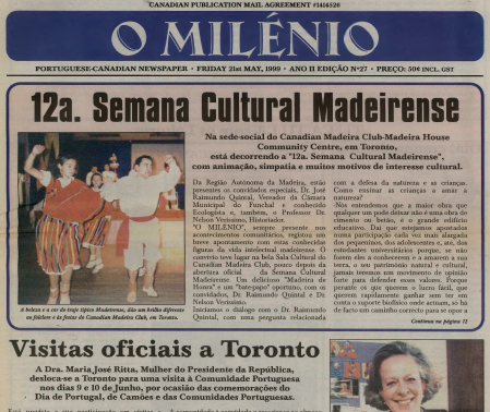 O MILENIO: 1999/05/21 Issue 27