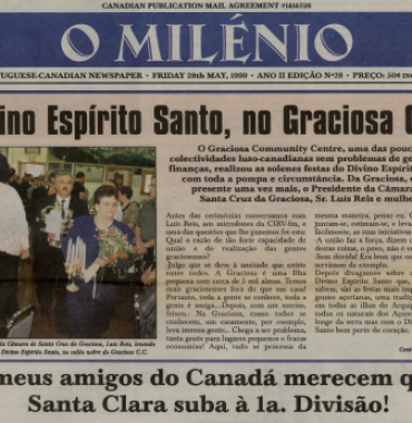 O MILENIO: 1999/05/28 Issue 28