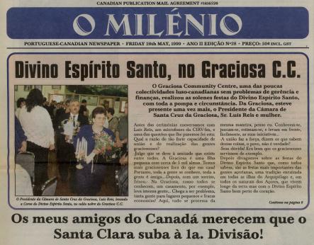 O MILENIO: 1999/05/28 Issue 28