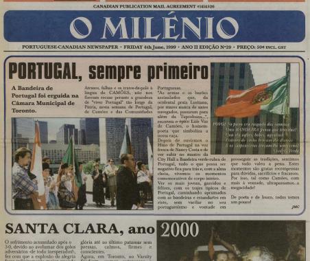 O MILENIO: 1999/06/04 Issue 29