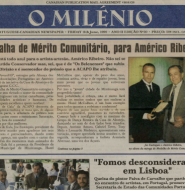 O MILENIO: 1999/06/11 Issue 30