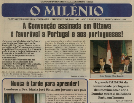 O MILENIO: 1999/06/17 Issue 31