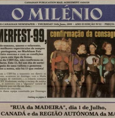O MILENIO: 1999/06/24 Issue 32