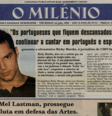 O MILENIO: 1999/07/01 Issue 33