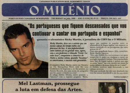 O MILENIO: 1999/07/01 Issue 33