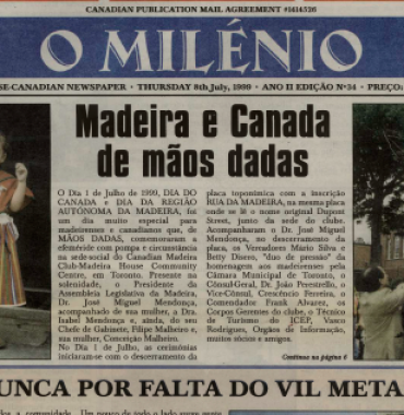 O MILENIO: 1999/07/08 Issue 34