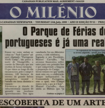O MILENIO: 1999/07/15 Issue 35