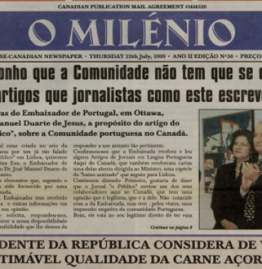 O MILENIO: 1999/07/22 Issue 36
