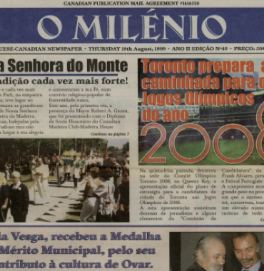 O MILENIO: 1999/08/19 Issue 40