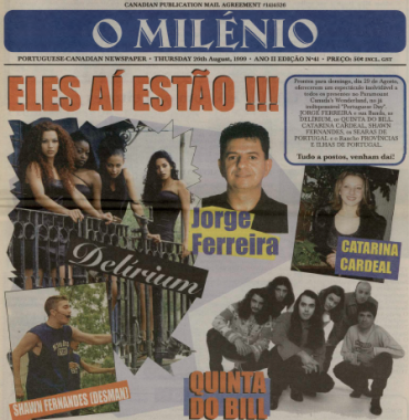 O MILENIO: 1999/08/26 Issue 41