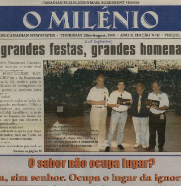 O MILENIO: 1999/09/02 Issue 42