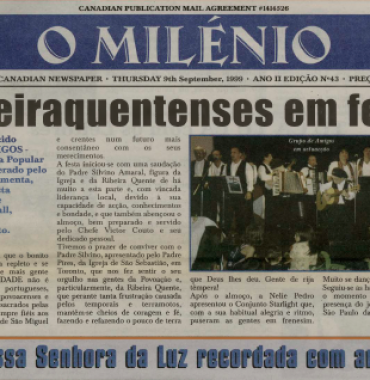 O MILENIO: 1999/09/09 Issue 43