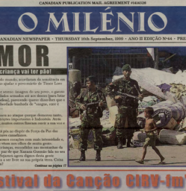 O MILENIO: 1999/09/16 Issue 44