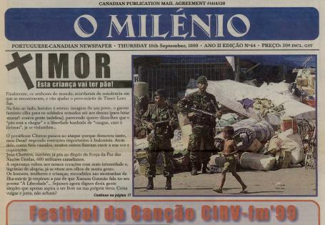 O MILENIO: 1999/09/16 Issue 44