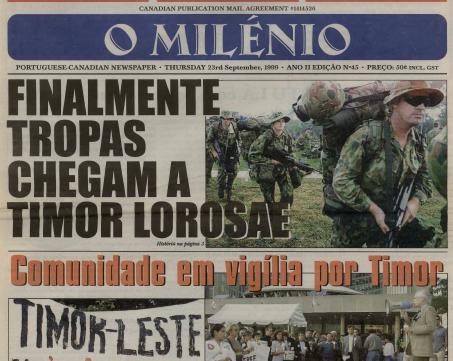 O MILENIO: 1999/09/23 Issue 45
