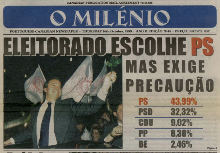 O MILENIO: 1999/10/14 Issue 48