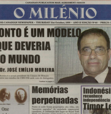 O MILENIO: 1999/10/21 Issue 49