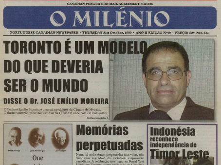 O MILENIO: 1999/10/21 Issue 49