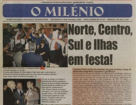 O MILENIO: 1999/10/28 Issue 50