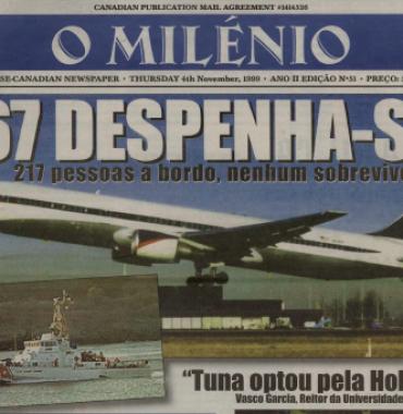 O MILENIO: 1999/11/04 Issue 51