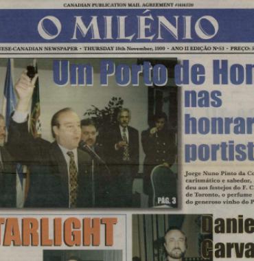 O MILENIO: 1999/11/18 Issue 53