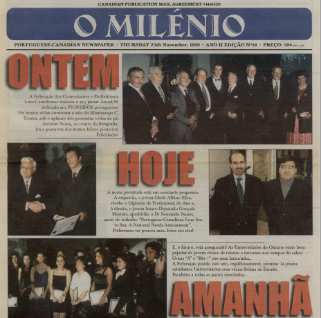 O MILENIO: 1999/11/25 Issue 54
