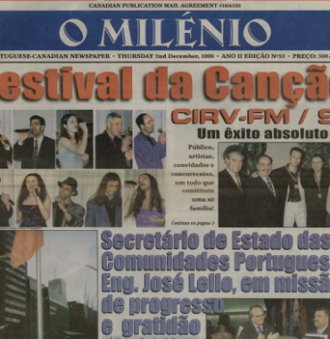 O MILENIO: 1999/12/02 Issue 55