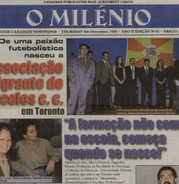 O MILENIO: 1999/12/09 Issue 56