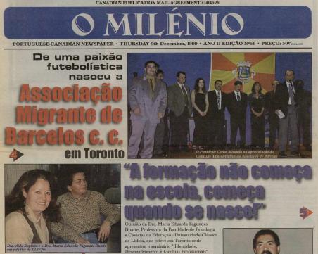 O MILENIO: 1999/12/09 Issue 56