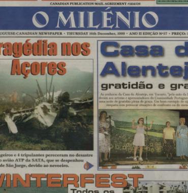 O MILENIO: 1999/12/16 Issue 57