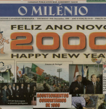 O MILENIO: 1999/12/30 Issue 59