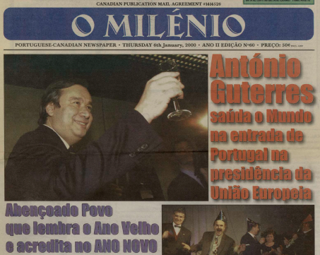 O MILENIO: 2000/01/06 Issue 60