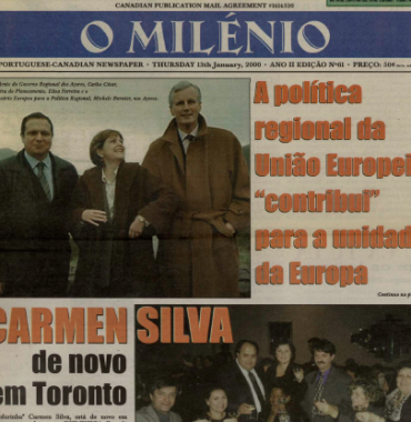 O MILENIO: 2000/01/13 Issue 61