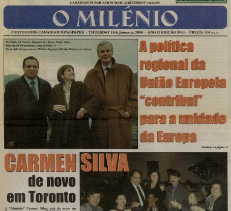 O MILENIO: 2000/01/13 Issue 61