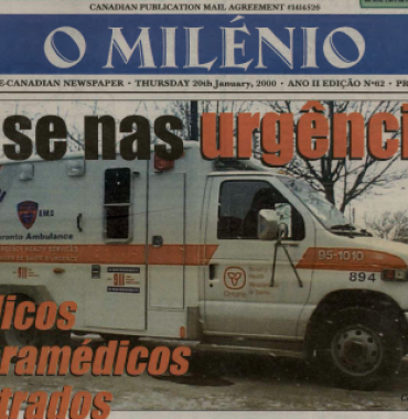 O MILENIO: 2000/01/20 Issue 62