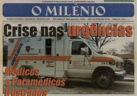 O MILENIO: 2000/01/20 Issue 62