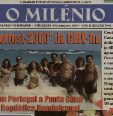 O MILENIO: 2000/01/27 Issue 63