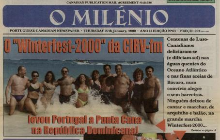 O MILENIO: 2000/01/27 Issue 63
