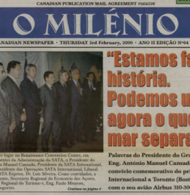 O MILENIO: 2000/02/03 Issue 64