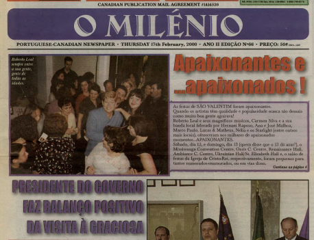 O MILENIO: 2000/02/17 Issue 66