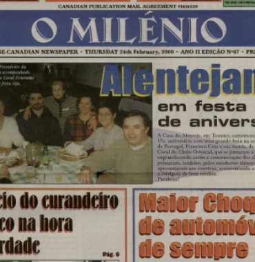 O MILENIO: 2000/02/24 Issue 67
