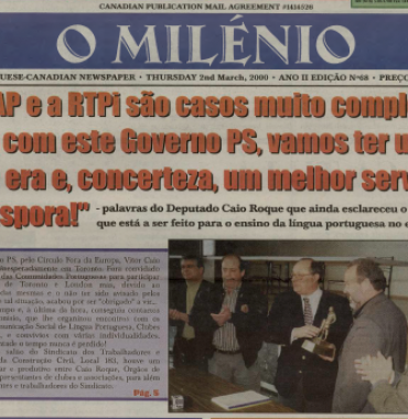 O MILENIO: 2000/03/02 Issue 68