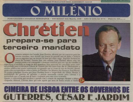 O MILENIO: 2000/03/16 Issue 70