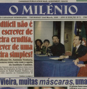 O MILENIO: 2000/03/23 Issue 71