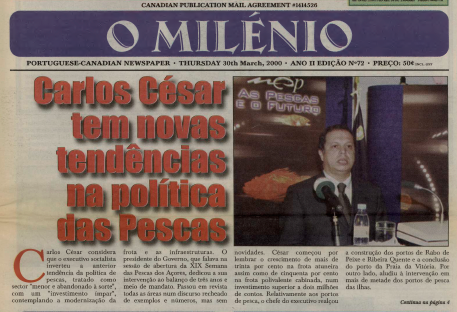 O MILENIO: 2000/03/30 Issue 72