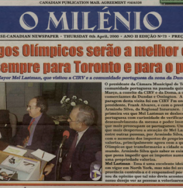 O MILENIO: 2000/04/06 Issue 73