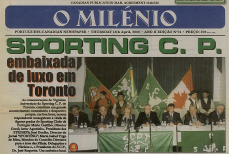 O MILENIO: 2000/04/13 Issue 74