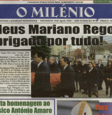 O MILENIO: 2000/04/20 Issue 75
