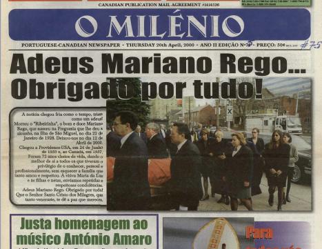 O MILENIO: 2000/04/20 Issue 75